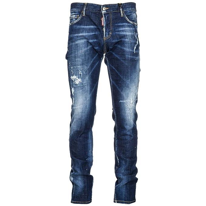 Dsquared2 Vaqueros Jeans Denim de Hombre Pantalones Nuevo ...