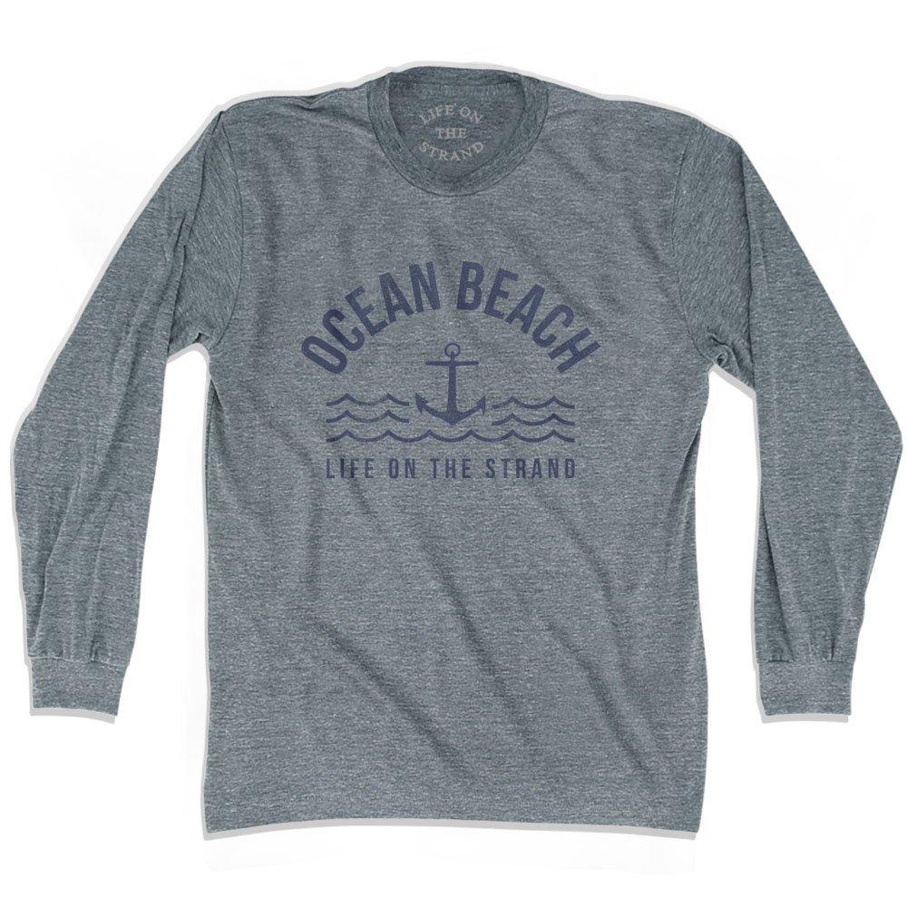 Ocean Anchor Life on the Strand Long Sleeve T-shirt