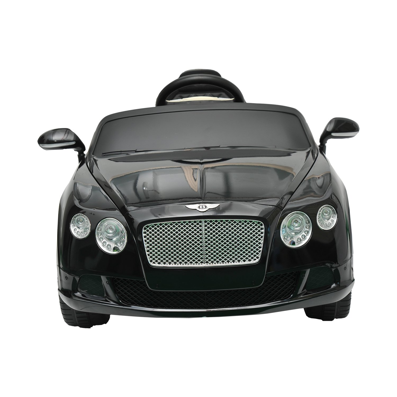 Aosom Bentley Gtc Kids 6v Electric Ride On Toy Car W Continental Audio Wiring Parent Remote Control Black Toys Games