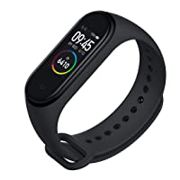 Mi Smart Band 4  (Black Strap, Size : Regular) Flipkart, Amazon Sale