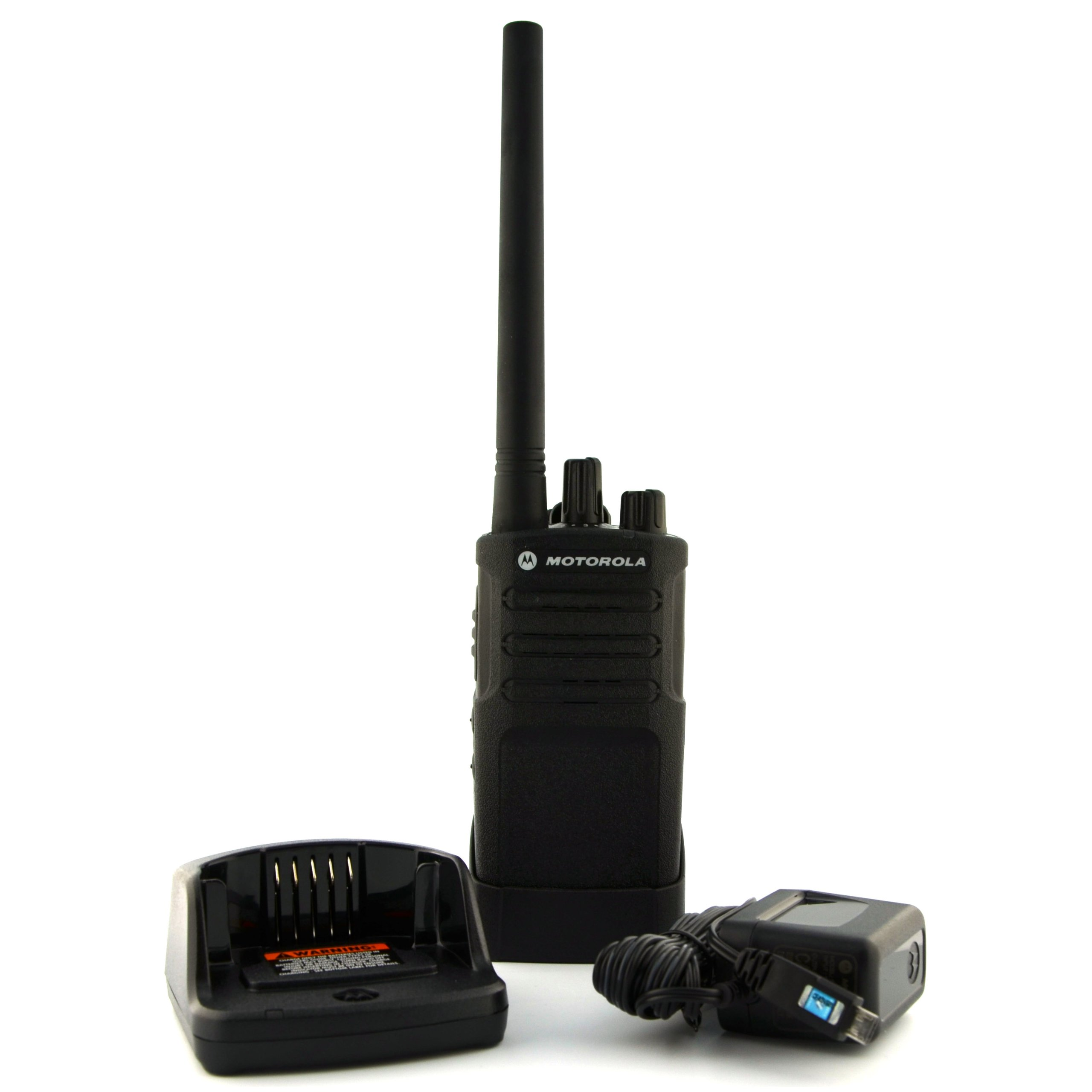 Motorola RMV2080 On-Site 8 Channel VHF Rugged Two-Way Business Radio with NOAA (Black)