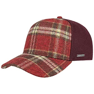 Stetson Virgin Wool Check Cap Winter Baseball  Amazon.co.uk  Clothing 2c663dbfc8e8