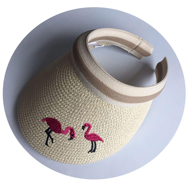 Woman Sun Hats Bowknot Visor Caps Hand Made DIY Straw Summer Cap Casual Shade Hat Empty Hat Beach