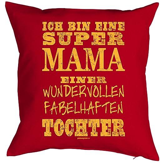 Cojín con diseño para madres - Super Mamá una fabelhaften ...