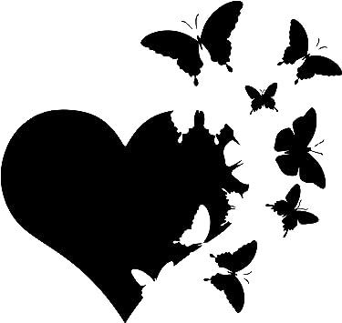 Infinity Butterflies Car Truck Suv Animal vinyl sticker decal