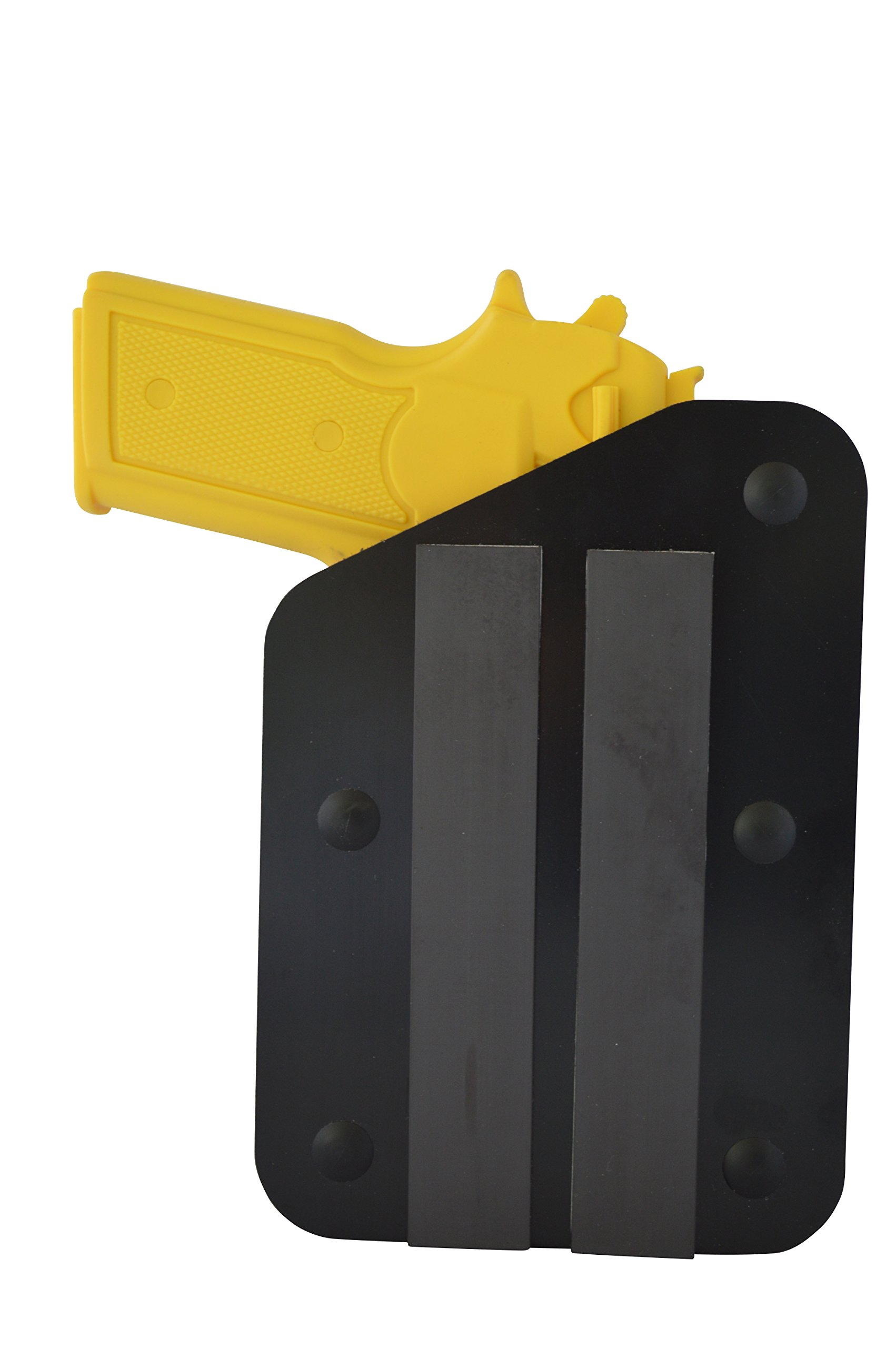 Benchmaster - Weapon Rack - Single (1) Gun Pistol Rack - Left -Magnetic Strip - Gun Safe Storage Accessories - Gun Rack by BenchMaster