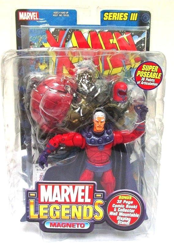 Marvel Legends Series 3 Magneto Figure Toy Biz X-Men by Toy Biz ...