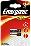 Energizer A27/E27A 12 V Alkaline Button Cell Battery (Pack of 2)