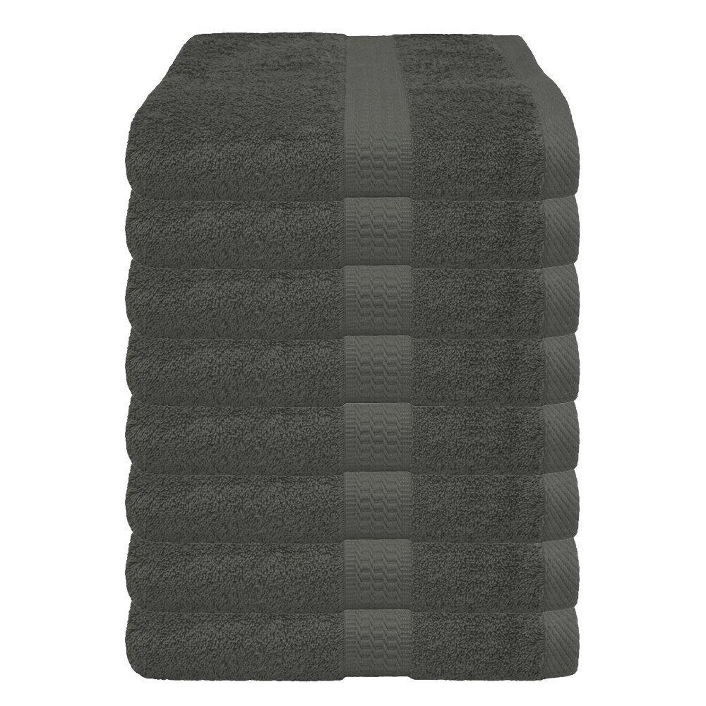 /4//8/Set de serviettes essuie-mains 50/x 100/cm Lot de 4 bordeaux 4/pi/èces//8/pi/èces dans de nombreuses couleurs/ 100 /% coton