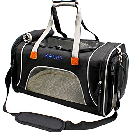 bf731f355512 Pet Carrier for Dogs & Cats-Airline Approved Travel Pet Carrier-Soft Sided  Cat