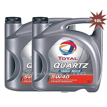 Total Quartz Ineo MC3 5 W40 Aceite de motor tot-174777 - 10 ...
