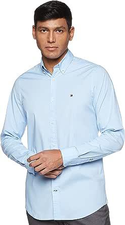 Tommy Hilfiger Core Stretch Slim Poplin Shirt Camisa para Hombre