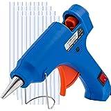 MYFOXI Hot Glue Gun Kit with 25 Refill Sticks – 20W High Temp Gluing Pen for Crafts, Jewelry Making, Wood Art, Fabric – Small