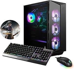 MSI Aegis RS 10SE-012US Enthusiast (i7-10700KF, 32GB RAM, 2X 1TB NVMe SSD + 1TB HDD, RTX2080 Super 8GB, Windows 10) Gaming Desktop