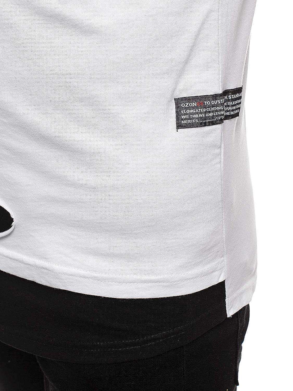 OZONEE Herren Tanktop Tank Top Tankshirt T-Shirt Unterhemden /Ärmellos Weste Muskelshirt Fitness O//1275