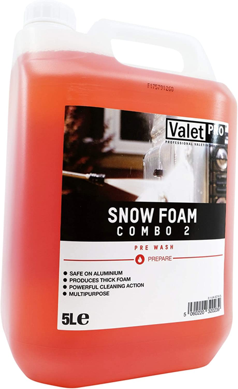 Valet Pro Heavy Duty Car Wash Snow Foam Combo 5 Litre Use In Karcher Lance Auto