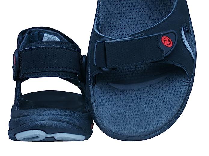 Merrell Kabarra Convertible Chanclas / Sandalias Hombre -Black-46  Marrón Zapatos marrones Beppi para hombre San Sanita Flex zuecos cerrado negro O1 + FO + SRC eZ4yys6