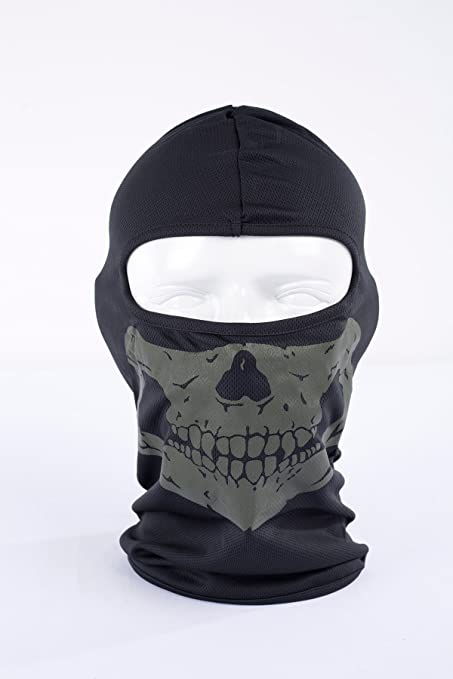 08c93259c03a3 Amazon.com  Reflective Skull Ghost Face Mask