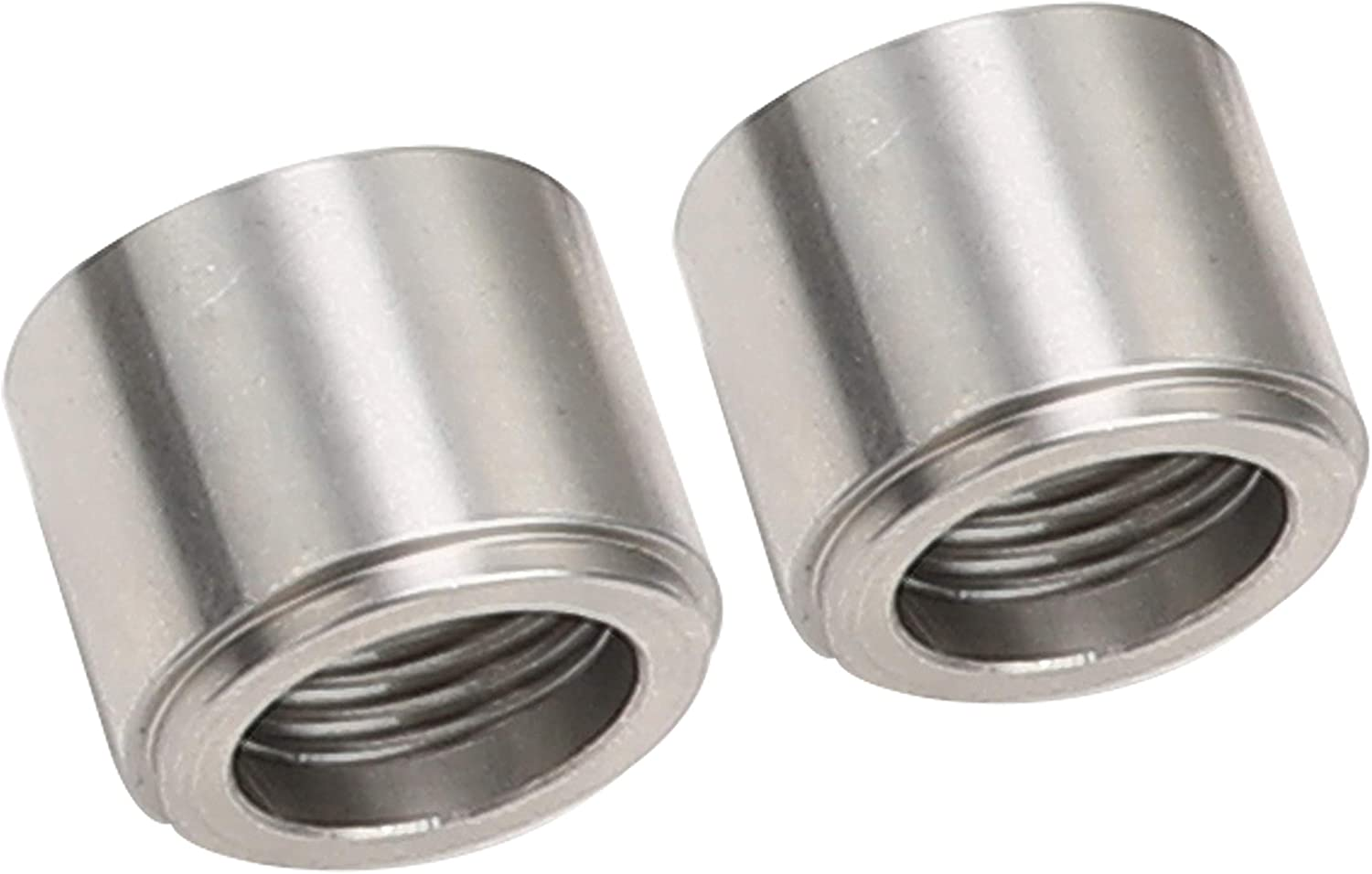Pack of 2 10AN Steel Male Weld On Bung AN10 JIC-10 AN Thread Weldable Fuel Tank Fitting 7//8-14 Natural
