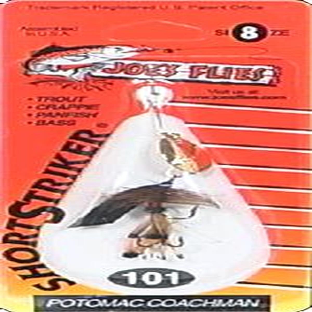 JoeS Flies Short Striker Potomac Coachman #101 Size 8