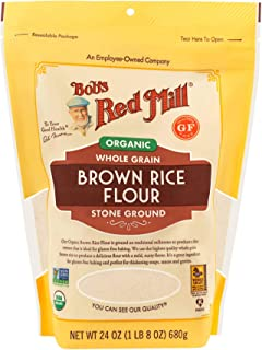 product image for Organic Brown Rice Flour, 24 Ounce (Pack of 1)