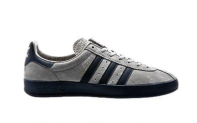 finest selection 79e34 4e07d adidas Originals Spezial Mallison SPZL, Color Light Onix-Navy White-Running  White,