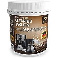Coffeeano 170 reinigingstabletten voor koffieautomaten en koffiezetapparaten Clean&Protect. Reinigingstabs compatibel…