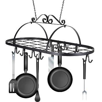 Pfannen Aufhängen eisen zum aufhängen topf rack halter küche aufhänger töpfe und