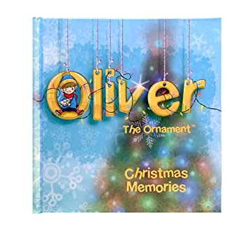 Amazon.com: Christmas Memory Journal - Oliver the Ornament ...