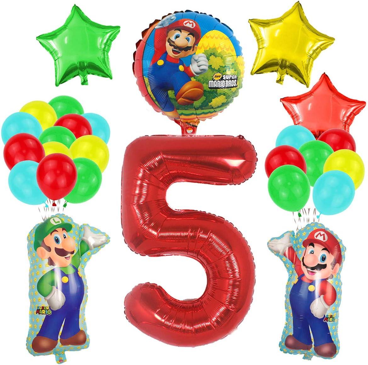 video game party super mario party mario table decorations mario and luigi party Super mario centerpiece super mario birthday