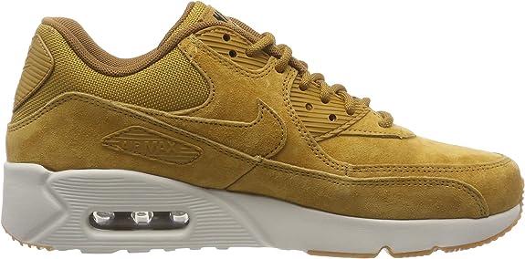 Nike Men's Air Max 90 Ultra 2.0 LTR Wheat 924447 700 (Size: 8)