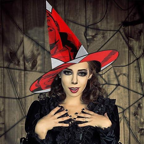 AISFGBJ Sombrero de Bruja para Parejas favoritas de Negan y ...