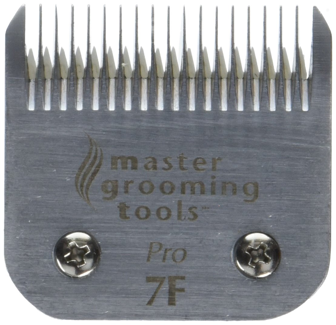 Master Grooming Tools Ceramic Pet Blade, Size 7F Finish, 1/8-Inch Cut Length by Master Grooming