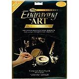 Royal & Langnickel Engraving Art Gold 8 x 10 inch Blank Board (Pack of 6)