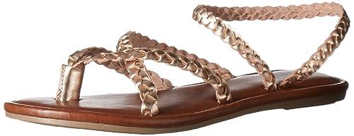24b7b341ac9 MIA Women s Braid Flat Sandal  Amazon.ca  Shoes   Handbags
