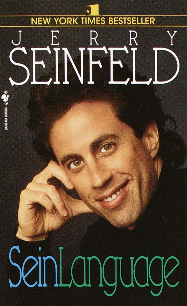 190165dac6f Seinlanguage  Jerry Seinfeld  9780553569155  Amazon.com  Books
