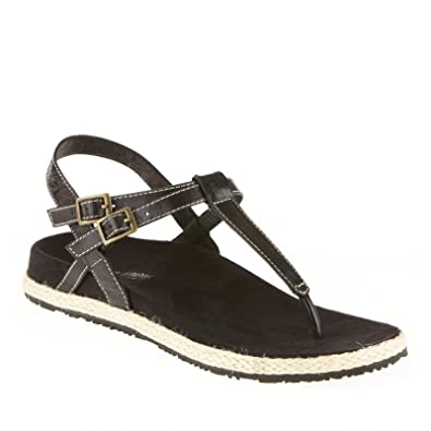 86d91e2aa46b6 Amazon.com | Dr Weil by Orthaheel Renew Support Sandals Black - 5 ...