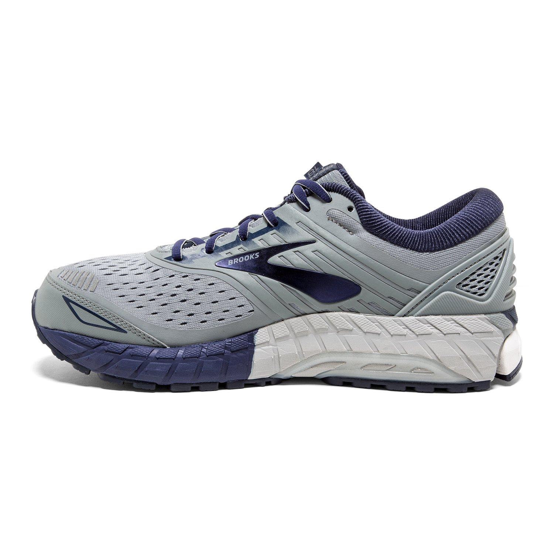 Brooks Beast '18, Zapatillas de Running para Hombre 42 EU Gris (Grey/Navy/White 015)