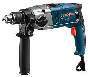 "Bosch HD18-2 Two-Speed Hammer Drill, 1/2"""