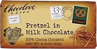product image for Chocolove XOXOX Pretzel In Milk Chocolate Bar - 2.9 oz