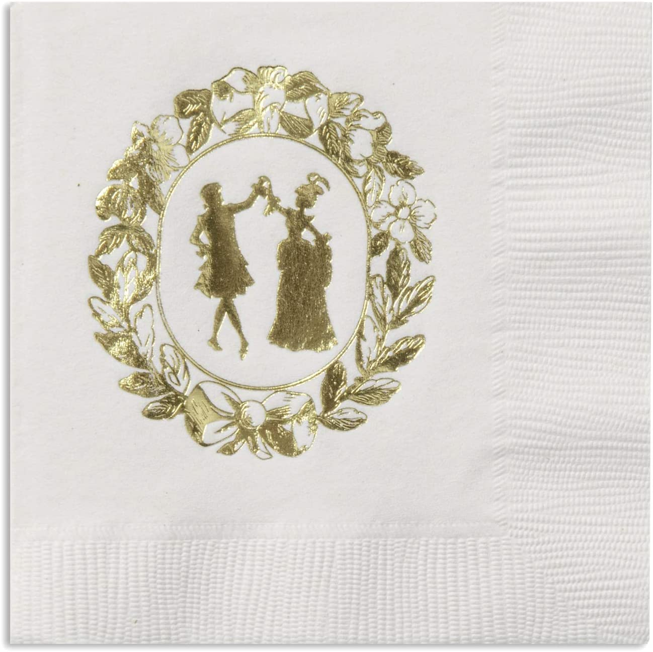 Cocktail Napkins for Wedding Reception Paper Napkins Decorative Disposable, Engagement Party, Him and Her Wedding Decorations 5