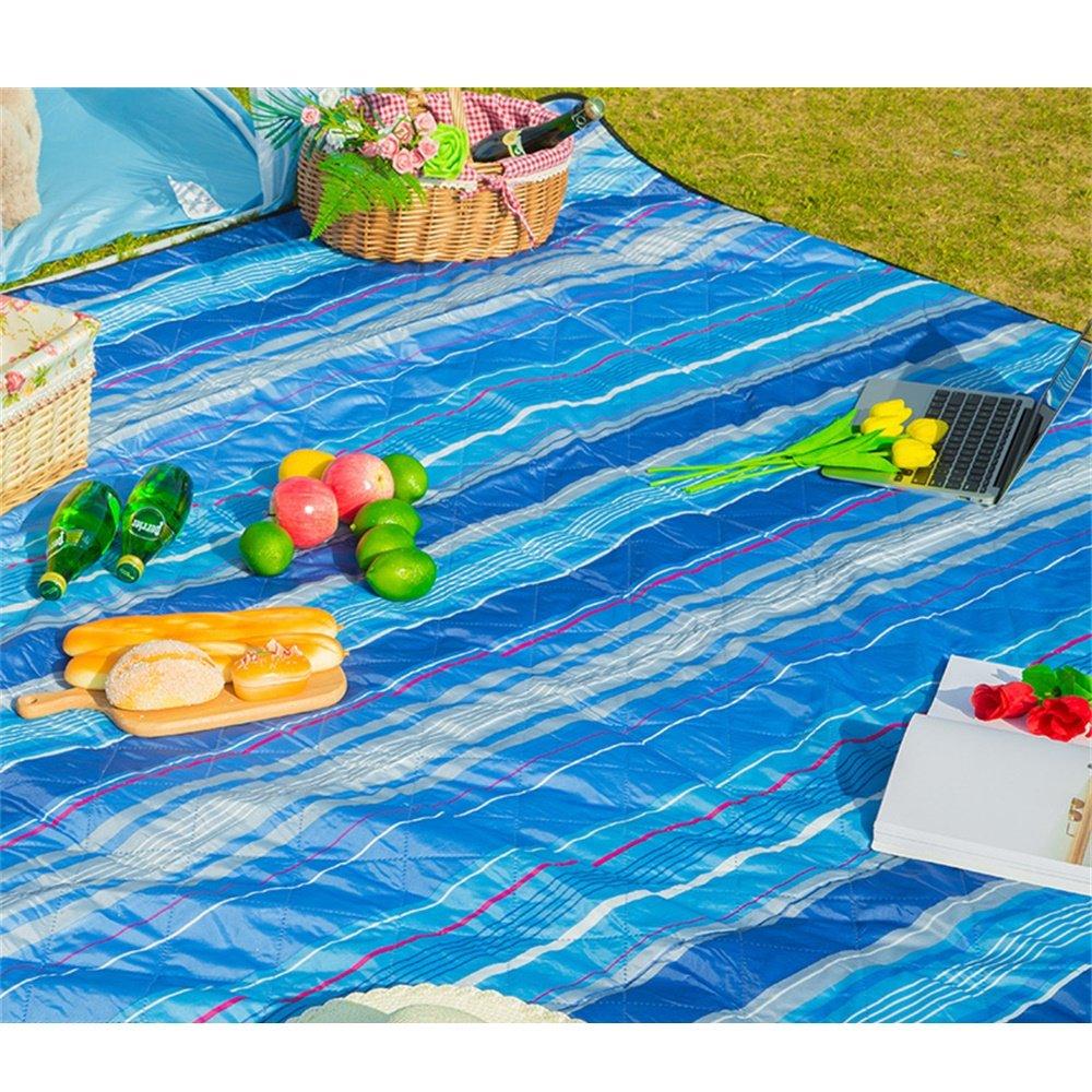 OUTDOOR Coco Wasserdichte Picknick-Decke im Freien Starke Rasen-Camping-Matte Rasen-Camping-Matte Rasen-Camping-Matte Spring Tour Portable 200  200cm (Farbe   H) B07CZFKMBX   München  d7d044