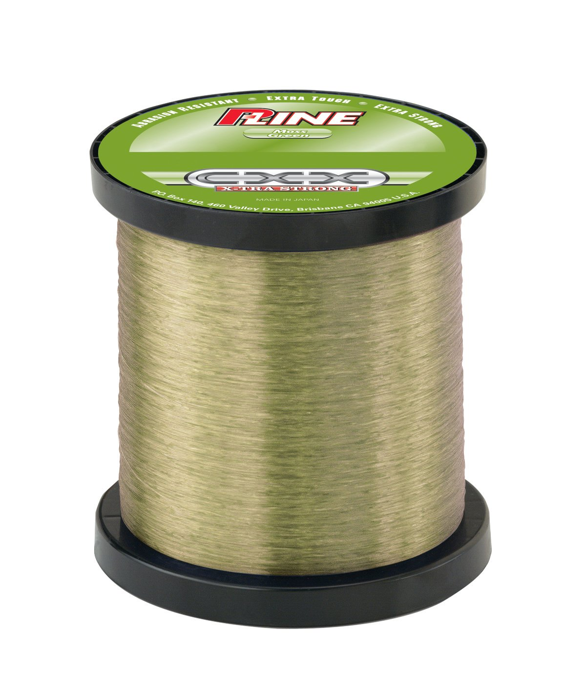P-Line CXX-Xtra Strong Moss Green Fishing Line Bulk Spool