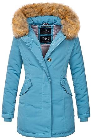 Marikoo B362 Chaqueta de invierno para mujer, parka, abrigo de invierno, forrado: Amazon.es: Ropa y accesorios