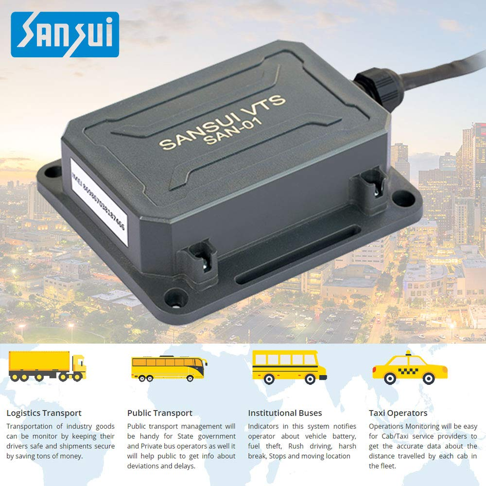 Sansui VTS-SAN01 Government Approved GPS Tracking: Amazon in