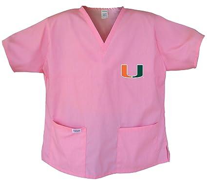 e78ad468 Ladies University of Miami Shirts Miami Canes Scrubs - Tops for Women