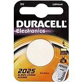 """DURACELL Lot de 10 piles bouton lithium """"Electronics"""", 2025 (CR2025)"""
