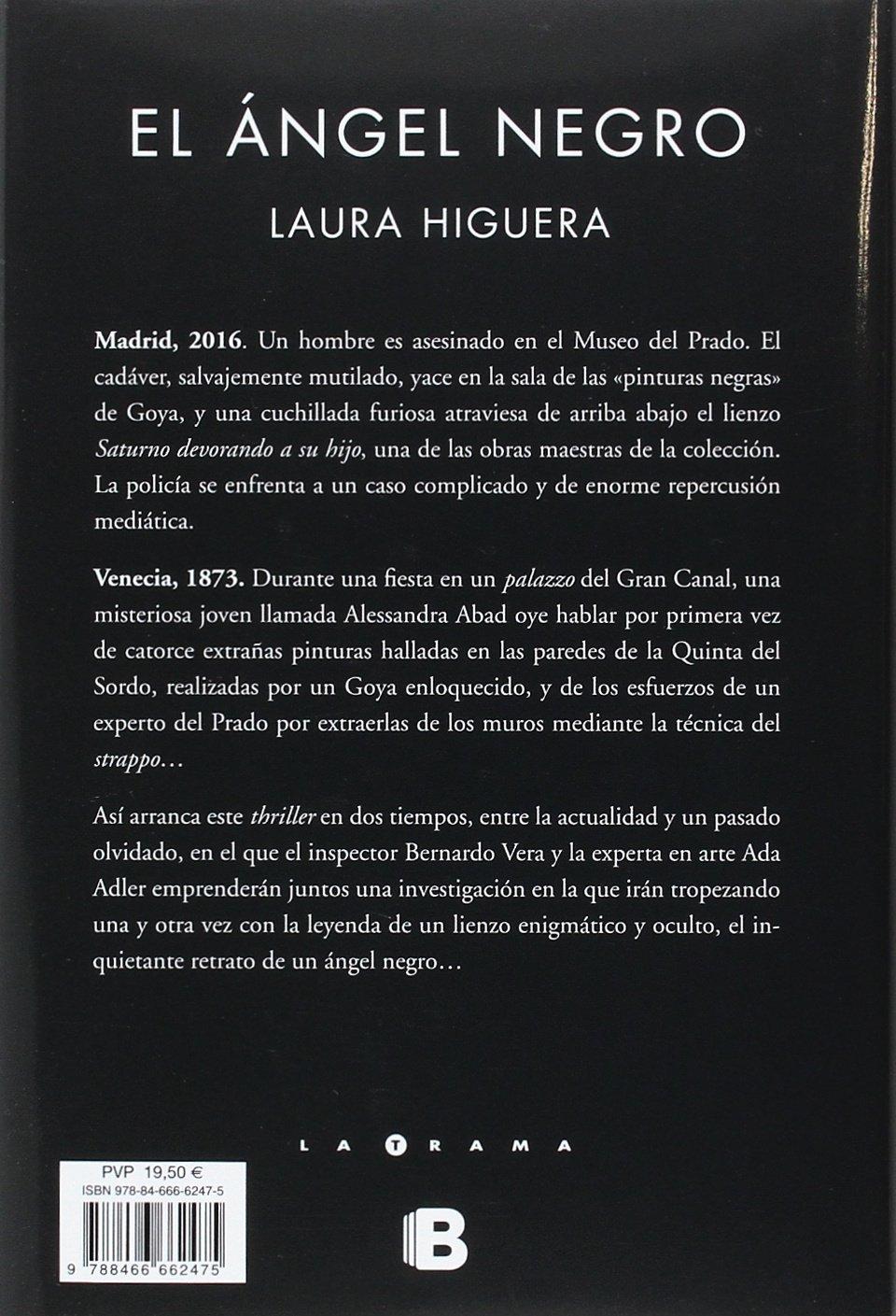 Amazon.com: El ángel negro / Black Angel (Spanish Edition) (9788466662475): Laura Higuera: Books