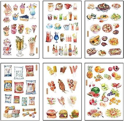 Cartoline Decorazione per DIY-Love Hacoly marcatura Nastro Adesivo Scrapbook Scrapbook Stickers diario della Carta della Decorazione Planner Washi Nastro Sticker diario Appunti di Viaggio