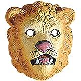 Careta de león salvaje jungla gato antifaz zoológico accesorios traje